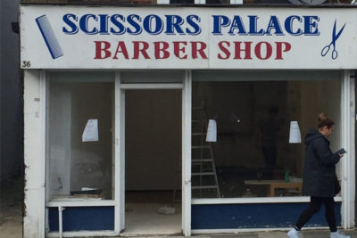 Barber Shop - Front View
