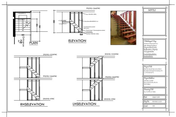 The Clump - Installation of Floating Staircase - Plan & Build